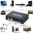 1080P HDMI to HDMI Optical + SPDIF + RCA L/R Extractor