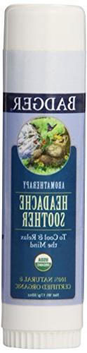 Badger Headache Soother - .6 oz Stick