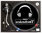 TECHNICS HEADPHONES - DJ SLIPMATS  1200's or any turntable