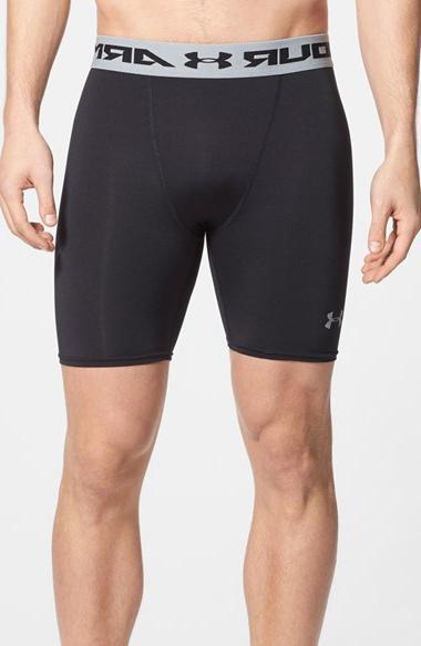 Men's Under Armour HeatGear UPF 30+ Compression Shorts, Size