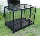 "New XXL 42"" Heavy Duty Dog Pet Metal Kennel Playpen Exercise"