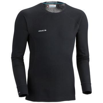 Columbia Sportswear Men's Heavyweight LS Top-Black-XL