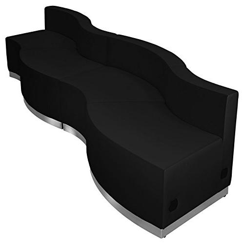 Flash Furniture ZB-803-590-SET-BK-GG 5 Piece Hercules Alon