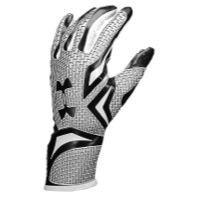 Under Armour Highlight Football Gloves - Mens - Black/White