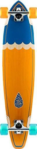 Sector 9 Highline Orange and Blue Complete Pintail Longboard
