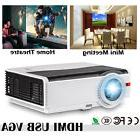 5000lm HD LED Home Cinema Theater Projector 1080p Video Game