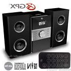 GPX Home Music System Remote CD AM FM Stereo Aux In 3.5mm