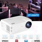 1080P HD LED 5000 Lumens Home Theater Cinema 3D USB VGA SD