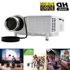 New HD Home Theater Multimedia LCD LED Projector 1080P HDMI TV Dvd Game Movie WP