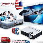 7000 Lumens HD 1080P Home Theater Projector 3D LED Portable