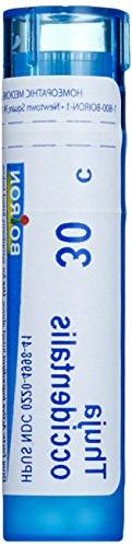 Boiron Homeopathic Medicine Thuja Occidentalis, 30C Pellets