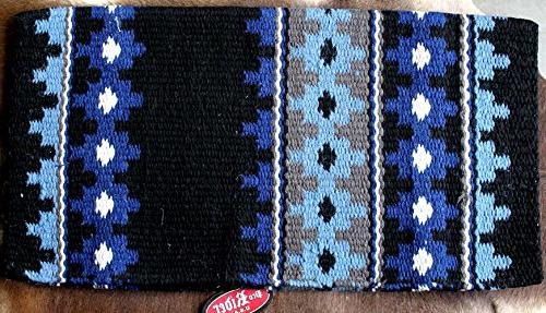 Horse Wool Western Show Trail SADDLE BLANKET Rodeo Pad Rug