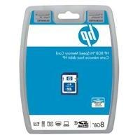 HP 8GB Secure Digital High Capacity  Class 4 Flash Memory