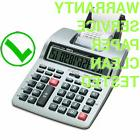 CASIO HR-100TM Printing Calculator BATTERY+AC business +FREE