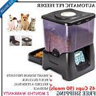 Huge 90 meals Automatic Timed Dog Cat Pet Feeder Meal Food