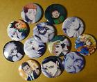 "HUNTER X HUNTER 1.5"" Set of 12 Pins buttons pinback badge"