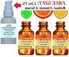 2.2 oz 100% Hyaluronic acid,30% Vitamin C,45% Matrixyl 3000