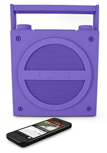 iHome iBT4 Bluetooth Boombox with FM Radio