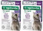 ADVANTAGE II Cat Flea Control 9+ lbs Purple 12 Month