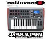 Novation Impulse 25-Key MIDI Controller Keyboard w/ 8 Drum