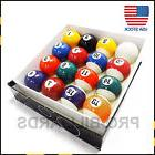"2 1/4"" Inch Deluxe Billiard / Pool Ball Set Free Shipping By"