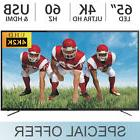"RCA 65"" Inch 4K ULTRA HD 2160p LED 60Hz TV w/ 3 HDMI & USB"
