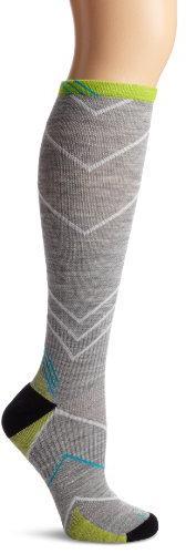 Sockwell Women's Incline Compression Socks, Light Grey,