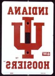 Indiana Hoosiers Light Switch Covers  Plates LS10137 by Tag