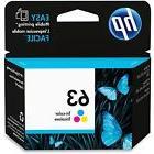 HP #63 Color Ink Cartridge 63 F6U61AN NEW GENUINE