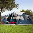 Instant Family Cabin 8-Person 2-Рoom Large Sealed Tent Camping Outdoor Lake Fish