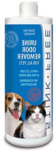 STINK FREE Instantly! Urine Odor Remover for Pet Urine 32 Oz