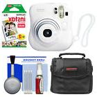 Fujifilm Instax Mini 25 Instant Film Camera White with 20