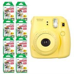 Fujifilm Instax Mini 8 Fuji Instant Film Camera Blue + 160