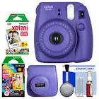 Fujifilm Instax Mini 8 Instant Film Camera Grape with Film