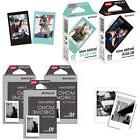 Fujifilm Instax Mini Mono Chrome,Black,Blue Film 50 Photos