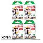 40PCS Fujifilm Instax Mini White Film For Mini 8 Plus 90 25