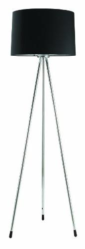 Ore International 31181BK Three Legged Floor Lamp, Black