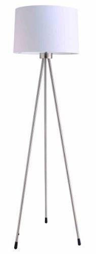 Ore International 31181IV Three Legged Floor Lamp, White