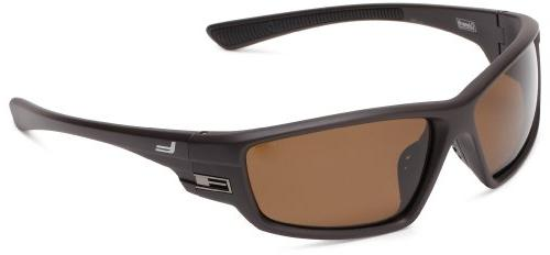 Coleman Intruder Polarized Wrap Sunglasses,Matte Black,139