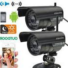 2 PCs IP Camera IOS Outdoor Waterproof Security System