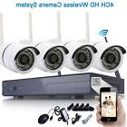 8CH Wireless HDMI NVR Outdoor Rainproof WIFI IR Camera CCTV