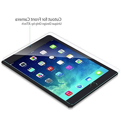 iPad Screen Protector, JETech® Premium Tempered Glass