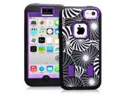IPhone 5C Case, Shockproof Dirt Proof Hybrid Armor Cover