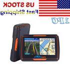"""Bluetooth Motorcycle GPS Navigation 8GB Waterproof 4.3"""""""