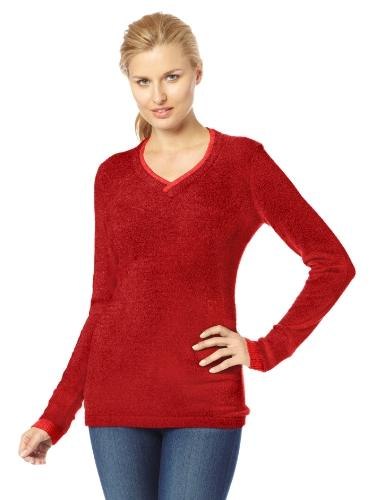 ExOfficio Women's Irresistible Neska V-Neck Sweater, Winter