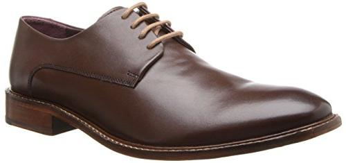 Ted Baker Men's Irron 2 Oxford, Brown Leather, 13 M US