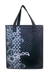 "Island Chain Small Insulated Tote Bag 8"" X 9"