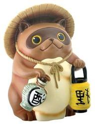 Japanese Tanuki Raccoon Dog Statue
