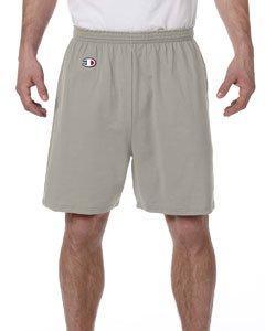 Champion 6.3 oz. Cotton Jersey Shorts>2XL OXFORD GRAY 8187