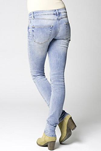 Ripe Jessa Skinny Maternity Jeans - Bleach Wash - Bleach